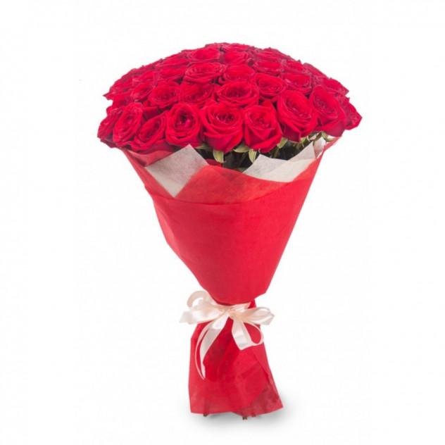 Букет из 55 розы